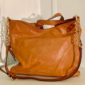 MICHAEL KORS Brown Large Handbag